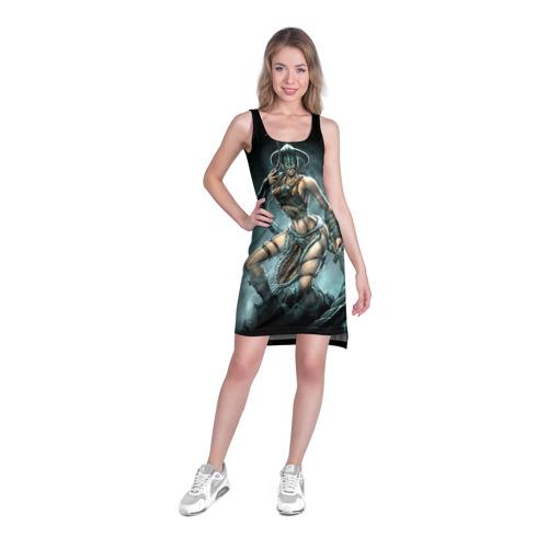 Платье-майка 3D  Фото 03, Довакинка
