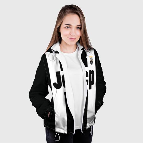 Женская куртка 3D  Фото 04, Ювентус