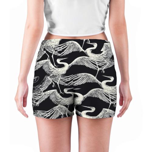 Женские шорты 3D  Фото 04, Птицы