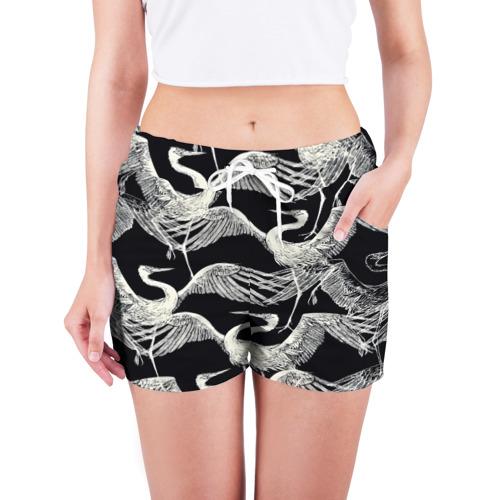 Женские шорты 3D  Фото 03, Птицы