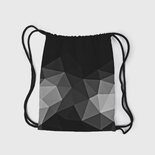 Рюкзак-мешок 3D Abstract gray Фото 01