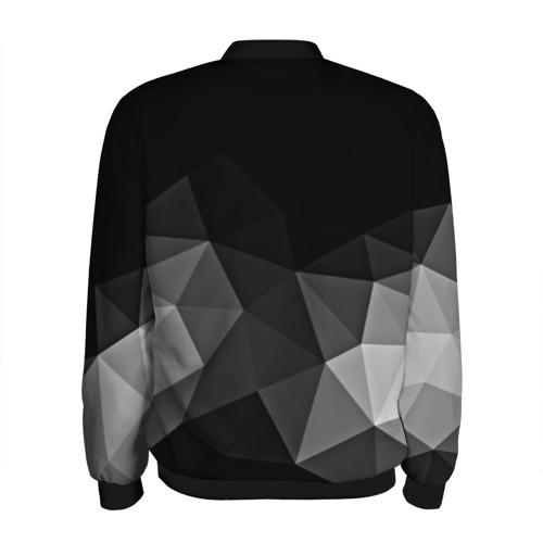 Мужской бомбер 3D Abstract gray Фото 01