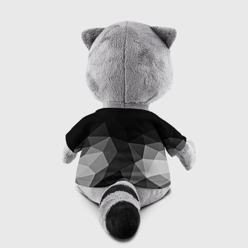 Игрушка Енотик в футболке 3D Abstract gray Фото 01