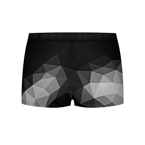 Мужские трусы 3D  Фото 02, Abstract gray