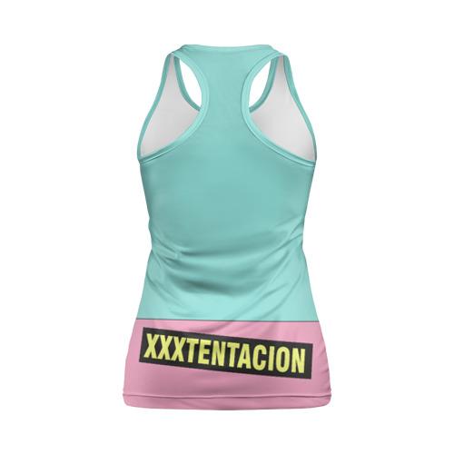 Женская майка 3D спортивная xxxtentacion Фото 01