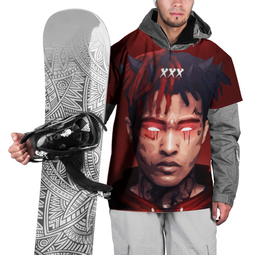 Накидка на куртку 3D  Фото 01, xxxtentacion