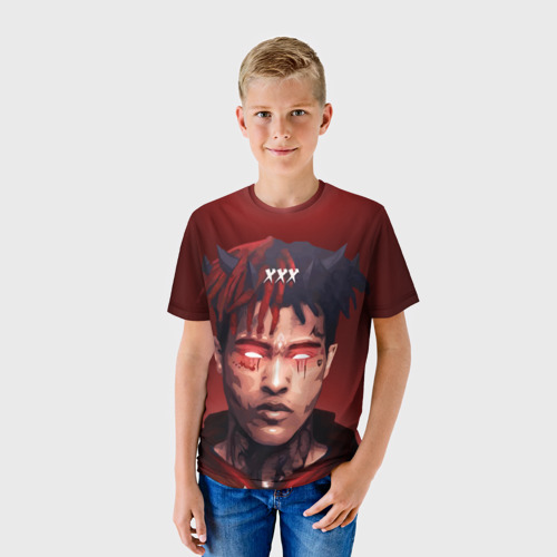 Детская футболка 3D xxxtentacion