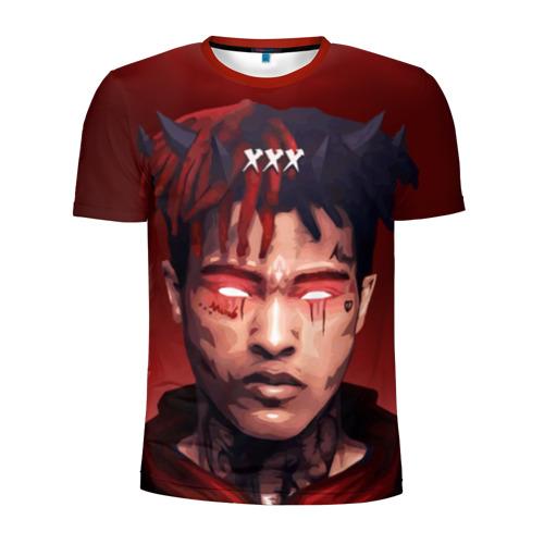 Мужская футболка 3D спортивная xxxtentacion