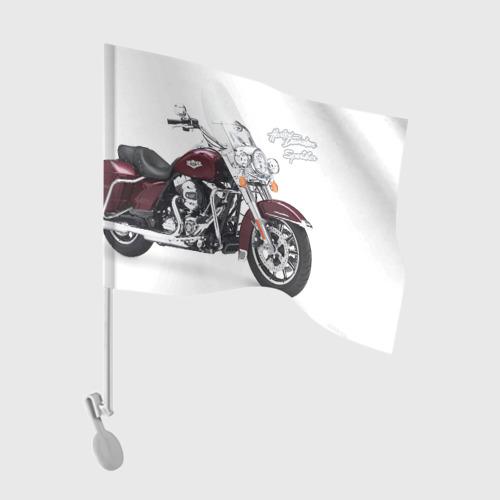Флаг для автомобиля Harley-Davidson Фото 01