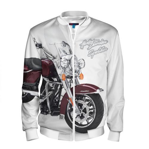 Мужской бомбер 3D Harley-Davidson Фото 01
