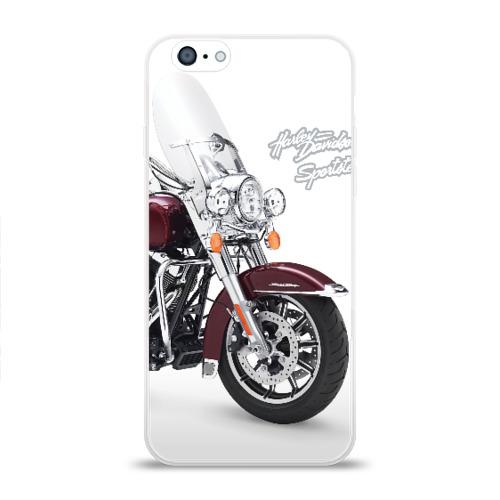 Чехол для Apple iPhone 6 силиконовый глянцевый Harley-Davidson Фото 01