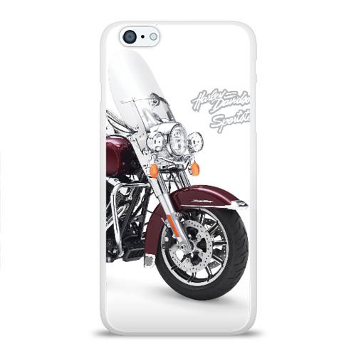 Чехол для Apple iPhone 6Plus/6SPlus силиконовый глянцевый Harley-Davidson Фото 01