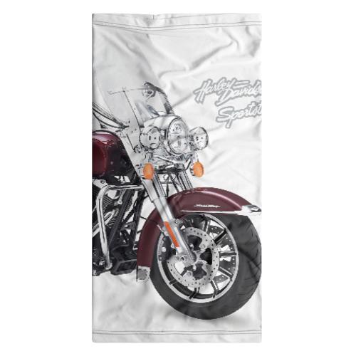 Бандана-труба 3D Harley-Davidson Фото 01