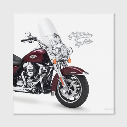 Холст квадратный Harley-Davidson Фото 01