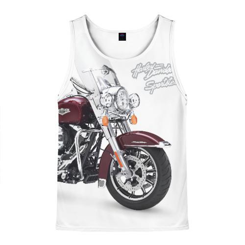Мужская майка 3D Harley-Davidson Фото 01