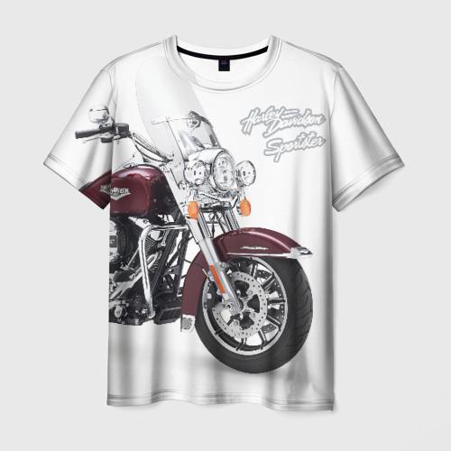 Мужская футболка 3D Harley-Davidson Фото 01