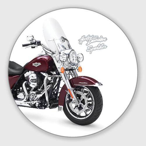 Коврик для мышки круглый Harley-Davidson Фото 01