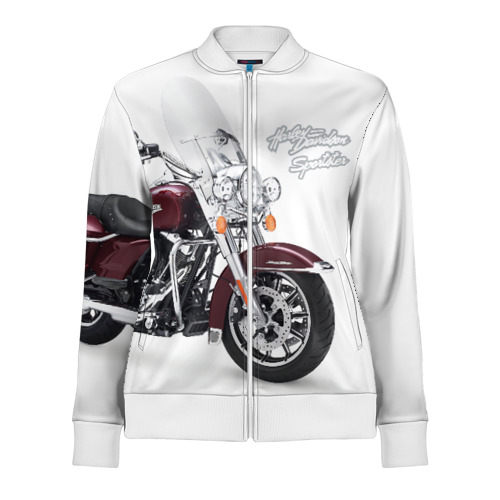 Женская олимпийка 3D Harley-Davidson Фото 01