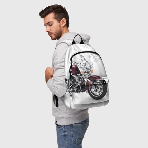 Рюкзак 3D Harley-Davidson Фото 01