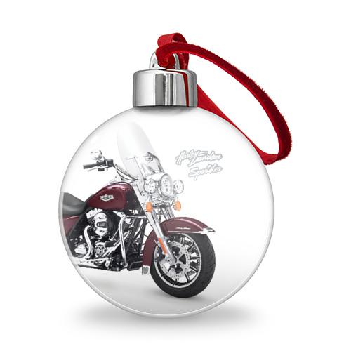 Ёлочный шар Harley-Davidson Фото 01