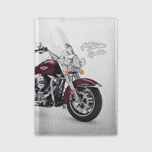 Обложка для автодокументов Harley-Davidson Фото 01