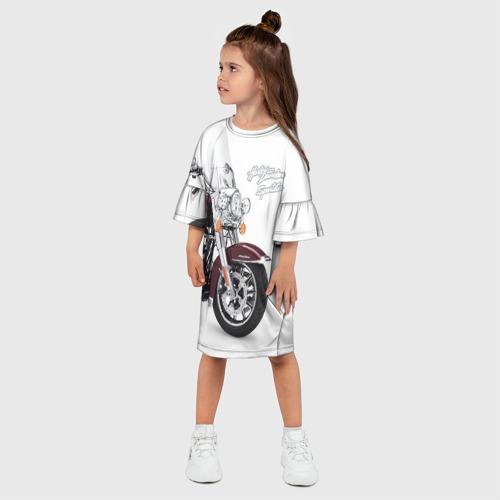 Детское платье 3D Harley-Davidson Фото 01