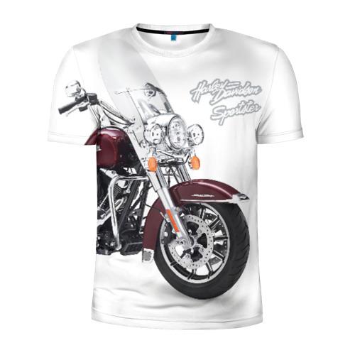 Мужская футболка 3D спортивная Harley-Davidson Фото 01