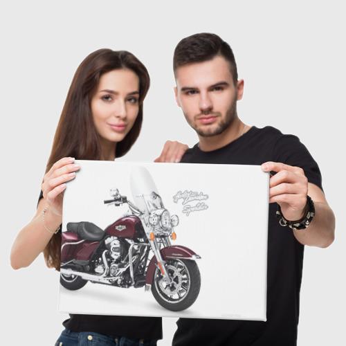 Холст прямоугольный Harley-Davidson Фото 01