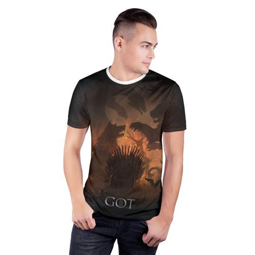 Мужская футболка 3D спортивная  Фото 03, Игра престолов
