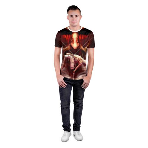 Мужская футболка 3D спортивная  Фото 04, Атака Титанов
