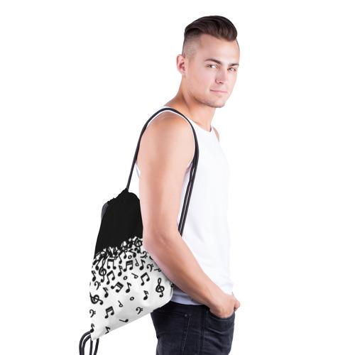 Рюкзак-мешок 3D  Фото 03, Поглощение музыкой