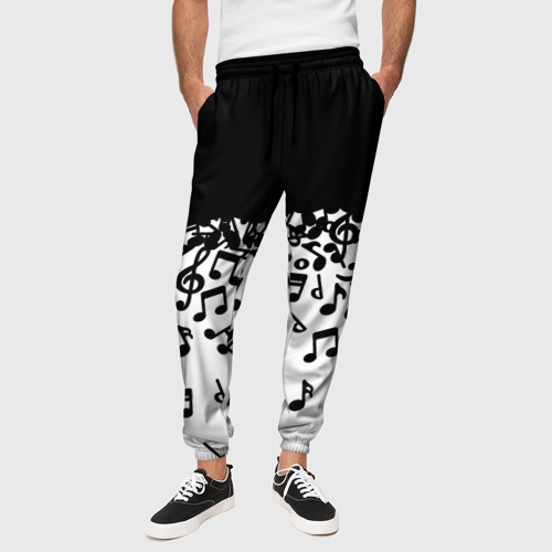 Мужские брюки 3D Поглощение музыкой Фото 01