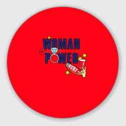 Woman power красный