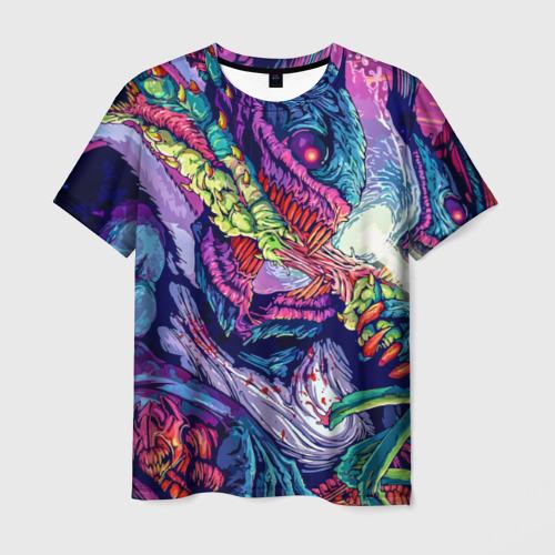 Мужская футболка 3D Hyper beast