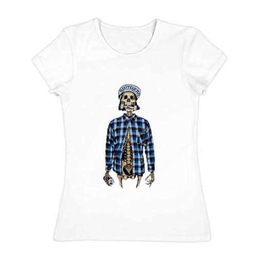 Женская футболка хлопок  Фото 01, SmitHead