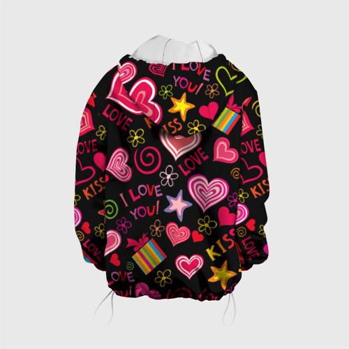 Детская куртка 3D  Фото 02, Love