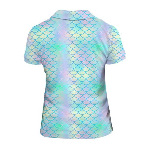 Женская рубашка поло 3D  Фото 02, На Ibiz`у blue