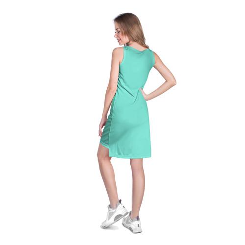 Платье-майка 3D  Фото 04, На Ibiz`у blue1