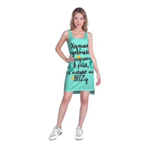 Платье-майка 3D  Фото 03, На Ibiz`у blue1
