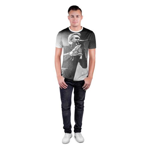 Мужская футболка 3D спортивная  Фото 04, Paparoach 9