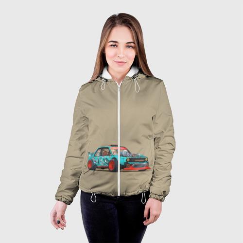 Женская куртка 3D Гонка 2 Фото 01
