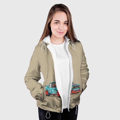 Женская куртка 3D  Фото 04, Гонка 2
