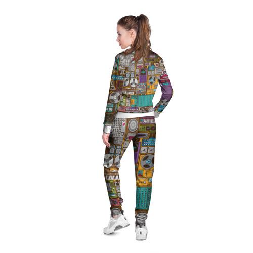 Женская олимпийка 3D  Фото 04, Музыка