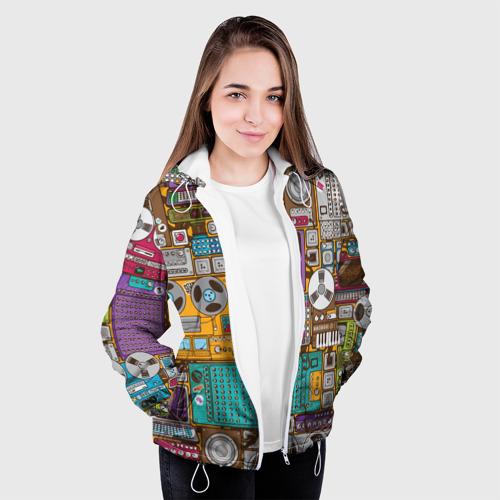 Женская куртка 3D  Фото 04, Музыка
