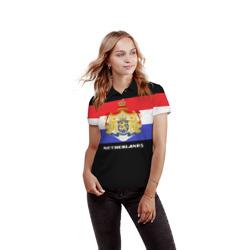 Флаг и герб Нидерланды