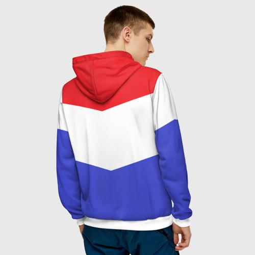 Мужская толстовка 3D  Фото 04, Флаг и герб Голландии