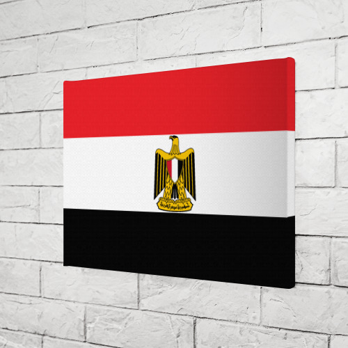 Холст прямоугольный  Фото 03, Флаг и герб Египта
