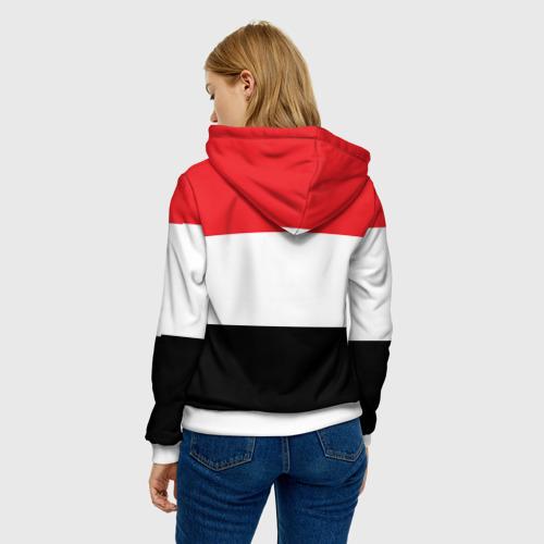 Женская толстовка 3D  Фото 04, Флаг и герб Египта