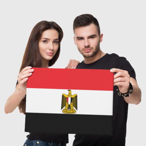 Холст прямоугольный  Фото 05, Флаг и герб Египта