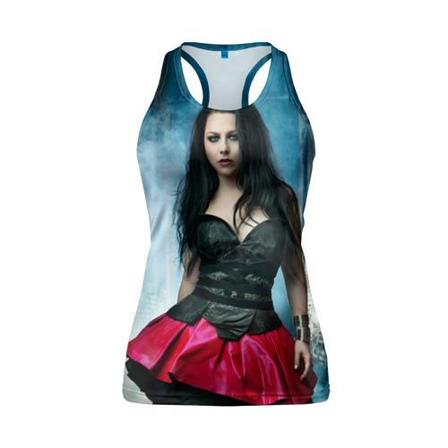 Женская майка 3D спортивная  Фото 01, Evanescence